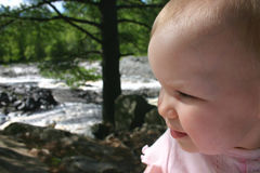 L'enfant de la nature image stock