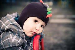 L'enfant fatigué Photographie stock libre de droits