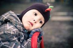 L'enfant fatigué Photographie stock