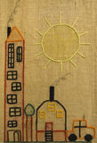 L'enfant handcraft Images libres de droits
