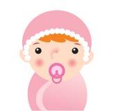 L'enfant nouveau-né Image libre de droits