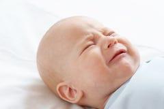 L'enfant pleurant Images libres de droits
