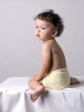 L'enfant rêvant. Photographie stock libre de droits
