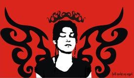 L'enfer a besoin d'un ange Image libre de droits