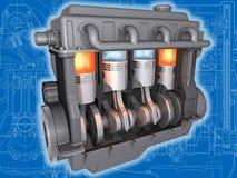 L'engine. Photographie stock libre de droits