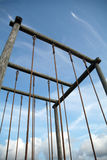 L'enjeu Ropes la verticale Photographie stock libre de droits