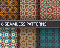 L'ensemble, collection, emballent les modèles sans couture de vecteur universel, couvrant de tuiles Ornements géométriques Image stock