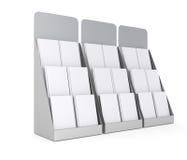 L'ensemble de blanc se tient avec des magazines Photo libre de droits