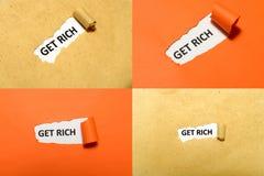 L'ensemble de obtiennent Rich Text Images libres de droits