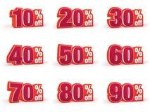 L'ensemble de prix discount signe dedans le regard rouge de laine Images libres de droits
