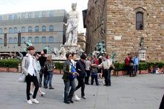 L'ensemble de réalité de Florence de la Chine étaient sont nous allant, papa Images stock