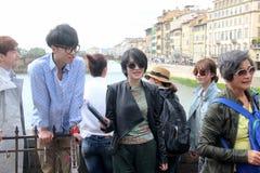 L'ensemble de réalité de Florence de la Chine étaient sont nous allant, papa Photo libre de droits