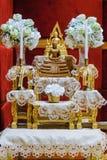 L'ensemble de table d'autel est foi images stock
