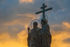 L'ensemble du bâtiment de la place de cathédrale dans Kolomna Kremlin Kolomna Russie images stock