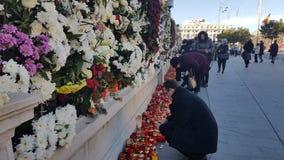L'enterrement du Roi Michael de la Roumanie Photos stock