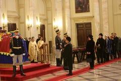 L'enterrement du Roi Michael I de la Roumanie Photographie stock libre de droits