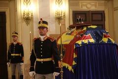 L'enterrement du Roi Michael I de la Roumanie Photo libre de droits