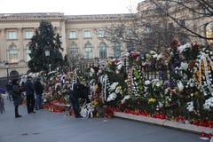 L'enterrement du Roi Michael I de la Roumanie Images stock