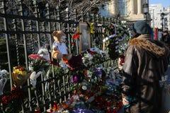 L'enterrement du Roi Michael I de la Roumanie Image stock