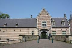 L'entrée au château Heeswijk Photos stock