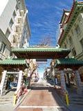 L'entrée de Chinatown à San Francisco illustration stock