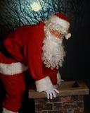 L'entrée de Santa Image libre de droits