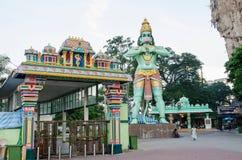 L'entrée des cavernes de Batu en Kuala Lumpur Malaysia image stock