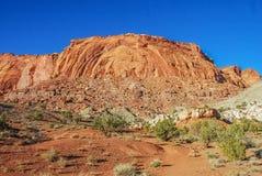 L'entrée du canyon image libre de droits