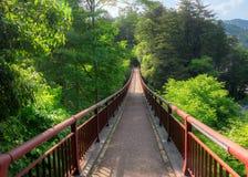 L'entrée du pont d'ishibune au Japon Photographie stock