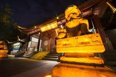 L'entrée du temple de Confucius Image libre de droits
