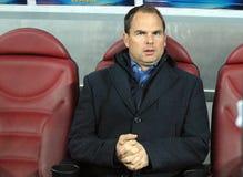 L'entraîneur de Frank de Boer Ajax Amsterdam Images stock