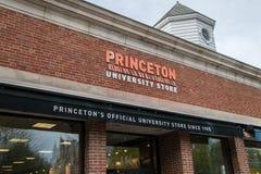 L'entrata anteriore del deposito ufficiale dell'università di Princeton immagine stock