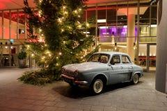 L'entrata del ristorante nella sera, Amsterdam di Dauphine immagini stock