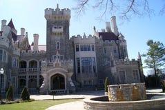L'entrata della casa Loma Castle a Toronto, Canada Immagini Stock Libere da Diritti
