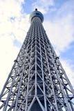 L'entrata della torre dell'albero del cielo di Tokyo, Giappone Fotografie Stock Libere da Diritti