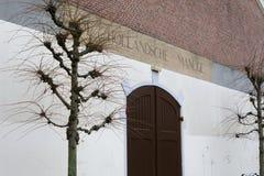 L'entrata principale al Hollandsche Manege, Amsterdam fotografia stock