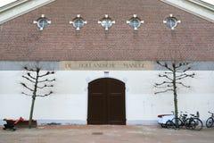 L'entrata principale al Hollandsche Manege, Amsterdam fotografia stock libera da diritti