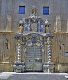 """L'entrata principale del """" di Filipe del """"Saint della cattedrale, fotografia stock"""