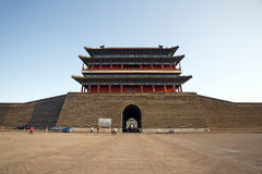 L'entrata principale ZhengYangMen immagine stock