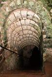 L'entrata in Wellington Tunnels, gesso sotterraneo estrae, memoriale della battaglia dell'arazzo 3 Fotografie Stock Libere da Diritti