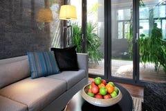 L'environnement d'intérieur d'hôtel Image stock