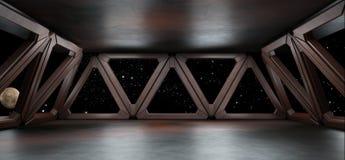 L'environnement de l'espace prêt pour des élém. de vos caractères 3D rendent illustration libre de droits