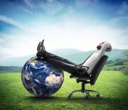 L'environnement est des affaires nouvelles Photo stock