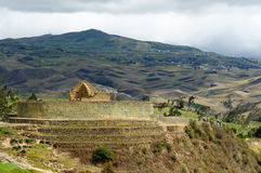 l'Equateur, site d'Inca d'Ingapirca Photo stock
