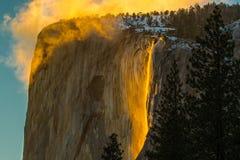 L'equiseto cade… una delle molte belle cascate nella gola di Colombia fotografie stock libere da diritti
