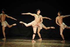 L'era del henry angelo-moderno gioventù-nero Yu del ballo-coreografo Immagini Stock Libere da Diritti