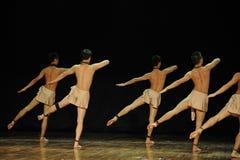 L'era del henry angelo-moderno gioventù-nero Yu del ballo-coreografo Immagine Stock