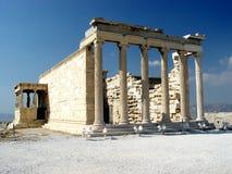 l'Erecthion, Acropole Image libre de droits