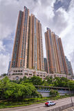 L'eremo - complesso di lusso della sistemazione nella città tre di olimpionico in Hong Kong Fotografia Stock