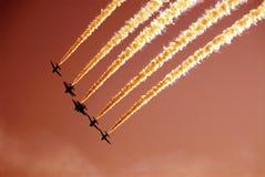 l'escadron Photo stock